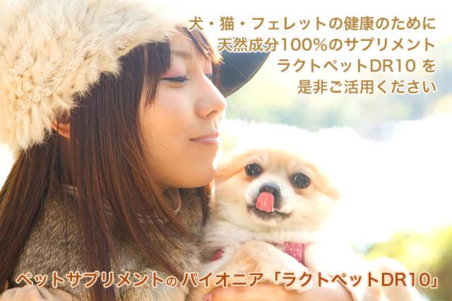 犬・猫・フェレットのための天然成分100%のサプリメント