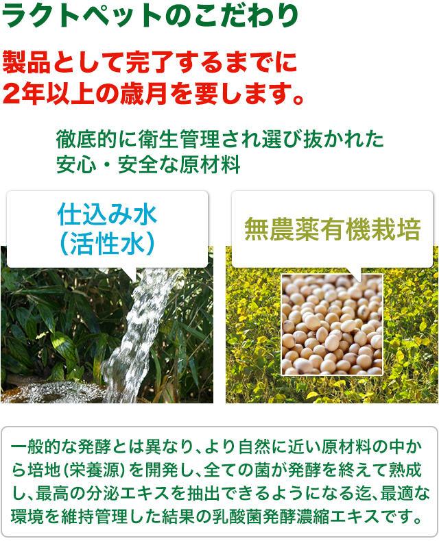 徹底的に衛生管理され選び抜かれた、安心安全な原材料/仕込み水(活性水)・無農薬有機栽培